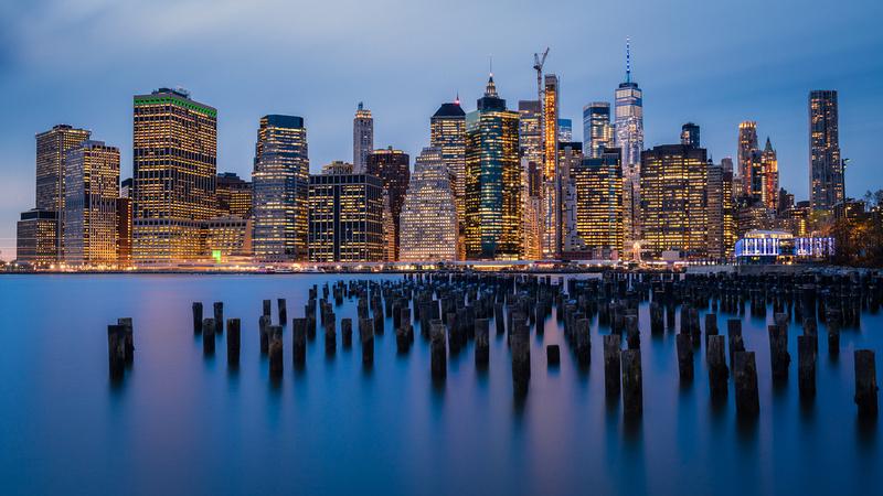 Manhattan from Brooklyn.